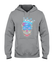 Colorful Skull Hooded Sweatshirt thumbnail