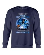 Black Cat - Buckle Up Buttercup Crewneck Sweatshirt thumbnail