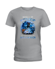 Black Cat - Buckle Up Buttercup Ladies T-Shirt thumbnail