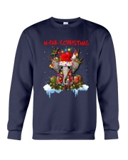 Elephant - M-ear-y Christmas Crewneck Sweatshirt tile