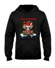Elephant - M-ear-y Christmas Hooded Sweatshirt tile