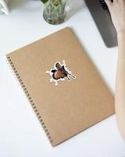 Running Horse Crack Sticker - Single (Vertical) aos-sticker-single-vertical-lifestyle-front-28