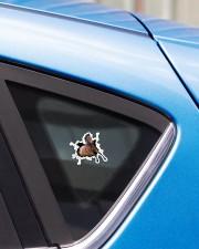Running Horse Crack Sticker - Single (Vertical) aos-sticker-single-vertical-lifestyle-front-33