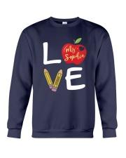 Customized Teacher Love Crewneck Sweatshirt thumbnail