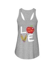 Customized Teacher Love Ladies Flowy Tank thumbnail