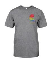 Skelton Love Is Love 2 Sides Classic T-Shirt tile
