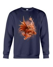 Multiple Sclerosis-Strong Like A Dragon Crewneck Sweatshirt thumbnail