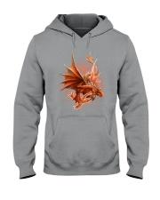 Multiple Sclerosis-Strong Like A Dragon Hooded Sweatshirt thumbnail