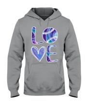 Softball Love Hooded Sweatshirt thumbnail