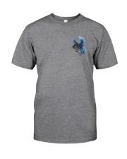 Horse Back The Blue 2 Sides Classic T-Shirt tile