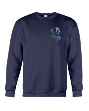 Horse Back The Blue 2 Sides Crewneck Sweatshirt thumbnail