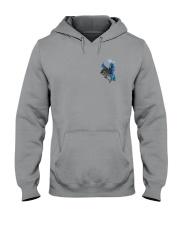 Horse Back The Blue 2 Sides Hooded Sweatshirt thumbnail