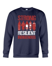 Native- Strong Resilient Indigenous Crewneck Sweatshirt thumbnail