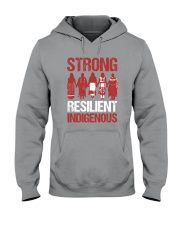 Native- Strong Resilient Indigenous Hooded Sweatshirt thumbnail