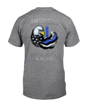Back The Blue - Americas Heroes 2 Sides Classic T-Shirt tile
