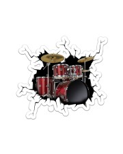 Drum Crack Sticker - Single (Vertical) front