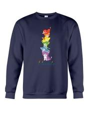 LGBT Cat Happy Purride Crewneck Sweatshirt tile