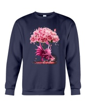 Breast Cancer Dragon Crewneck Sweatshirt thumbnail