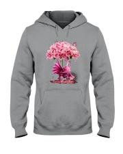 Breast Cancer Dragon Hooded Sweatshirt thumbnail