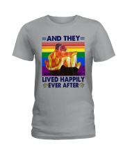 LGBT - And They Lived Happily Ever After  Ladies T-Shirt tile