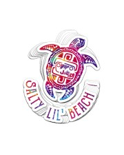 Jp Turtle Salty Lil Beach St Sticker - 10 pack (Vertical) front
