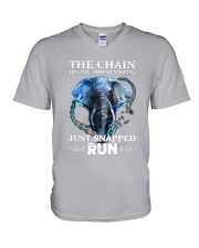 Elephant The Chain V-Neck T-Shirt tile