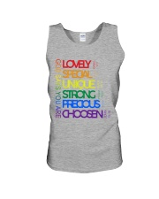 LGBT - God Says You Are Unisex Tank tile