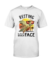 Turtle - Resting Beach Face Classic T-Shirt front