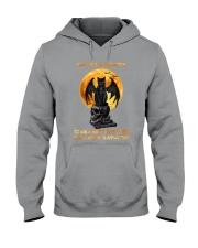 Black Cat Give Me Strength Hooded Sweatshirt thumbnail
