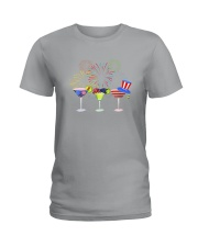 Margarita Independence Day Ladies T-Shirt thumbnail