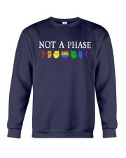 Cat LGBT - Not A Phase Crewneck Sweatshirt tile