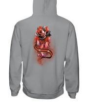 Native Rose 2 Sides Hooded Sweatshirt tile