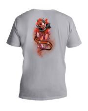 Native Rose 2 Sides V-Neck T-Shirt tile