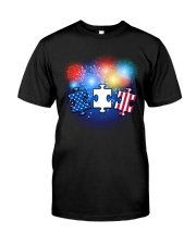 Autism Independence Day  Classic T-Shirt front