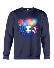 Autism Independence Day  Crewneck Sweatshirt thumbnail