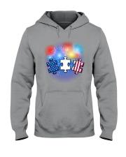Autism Independence Day  Hooded Sweatshirt thumbnail