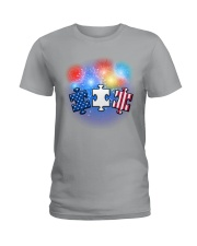 Autism Independence Day  Ladies T-Shirt thumbnail