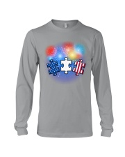 Autism Independence Day  Long Sleeve Tee thumbnail