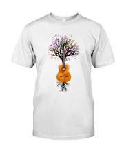 Guitar - Musical Tree Classic T-Shirt front