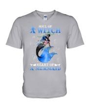 Heart Of A Mermaid V-Neck T-Shirt thumbnail