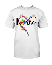 Autism Mom Love Classic T-Shirt front