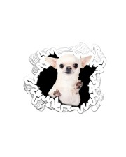 Chihuahua Crack Sticker - 10 pack (Vertical) front