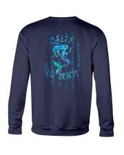 Salty Lil Beach 2 Sides Crewneck Sweatshirt tile