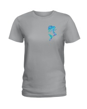 Salty Lil Beach 2 Sides Ladies T-Shirt tile