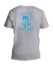 Salty Lil Beach 2 Sides V-Neck T-Shirt tile