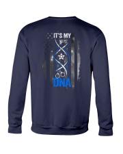 Back The Blue Its My DNA 2 Sides Crewneck Sweatshirt tile
