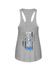 Back The Blue Its My DNA 2 Sides Ladies Flowy Tank tile