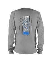 Back The Blue Its My DNA 2 Sides Long Sleeve Tee tile