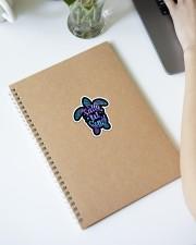 Turtle Salty Lil Beach Purple Crack St Sticker - Single (Vertical) aos-sticker-single-vertical-lifestyle-front-28