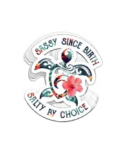 STICKER-Turtle-Salty By Choice Sticker - 10 pack (Vertical) front